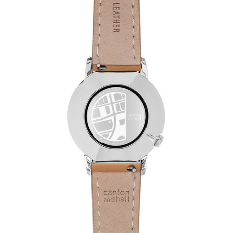 Canton and Hall Uptown Daytripper Watch| Tan Leather-CH40-002