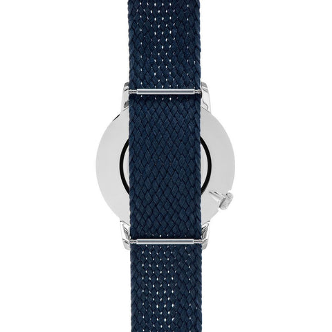 Canton and Hall Midcity Daytripper Watch| Navy Perlon-CH40-003