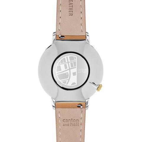 Canton and Hall East Coast Daytripper+ Watch | Tan Leather-CH44-002