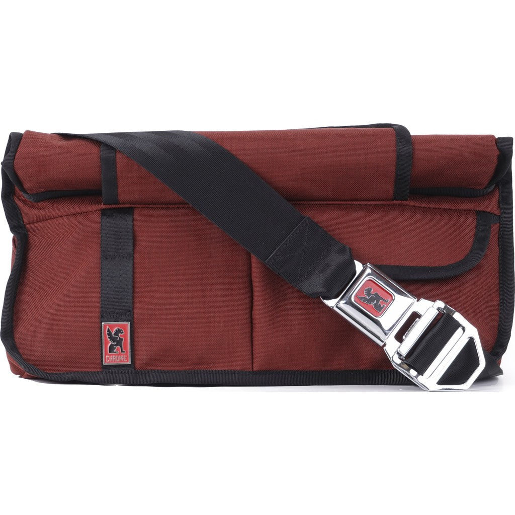 Chrome Chekhov Rolltop Utility Messenger Bag | Brick/Black BG-160-BRIK