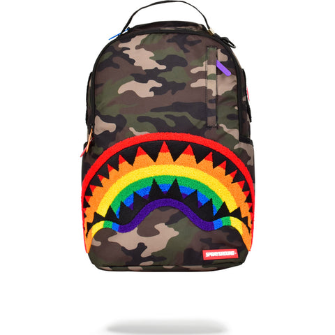 b821dcca0a Sprayground Chenille Shark Backpack