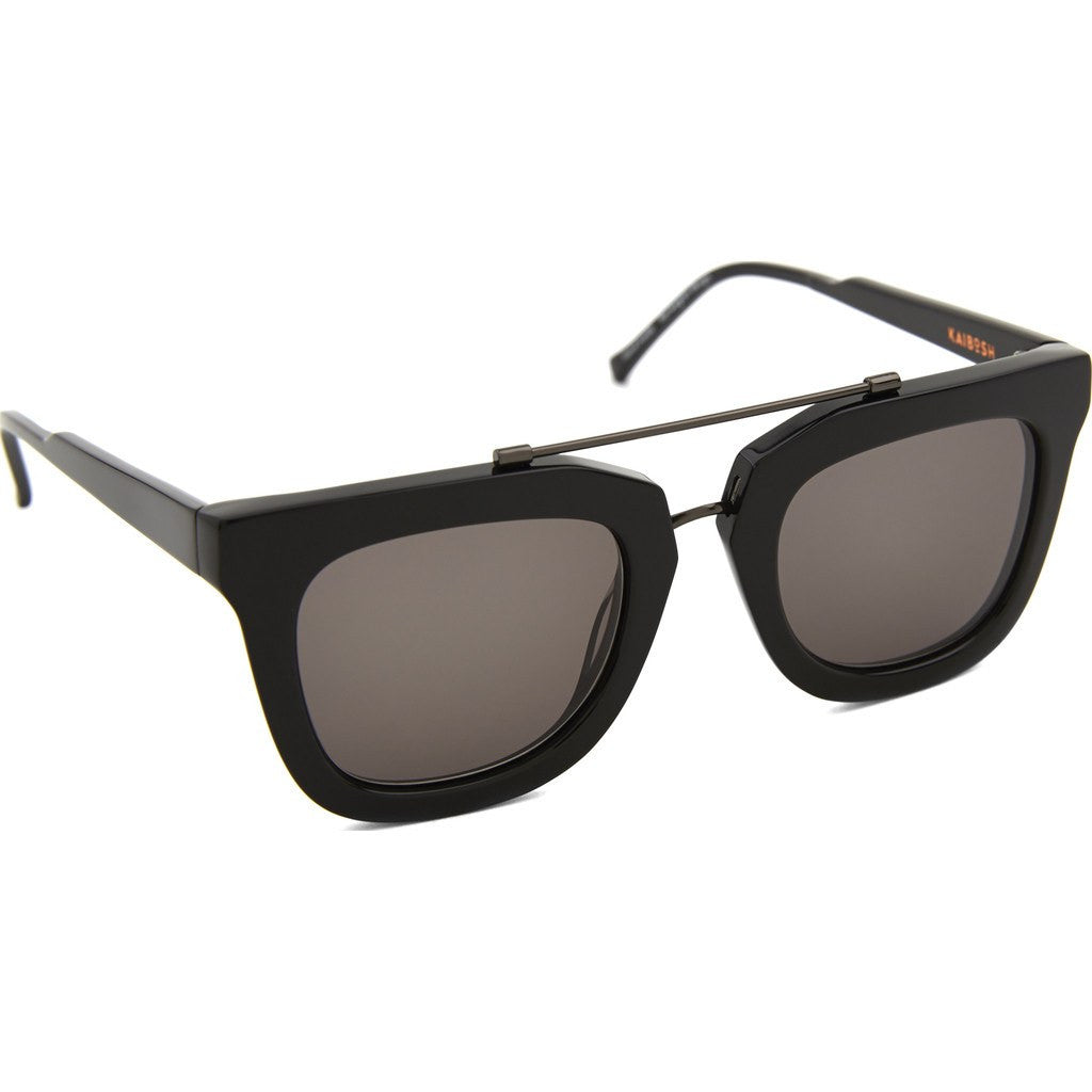 Kaibosh Chips & Salsa Remix Sunglasses | Solid Black KBS_810538
