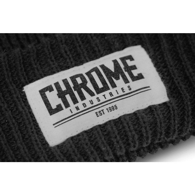 Chrome 1995 Beanie | Black