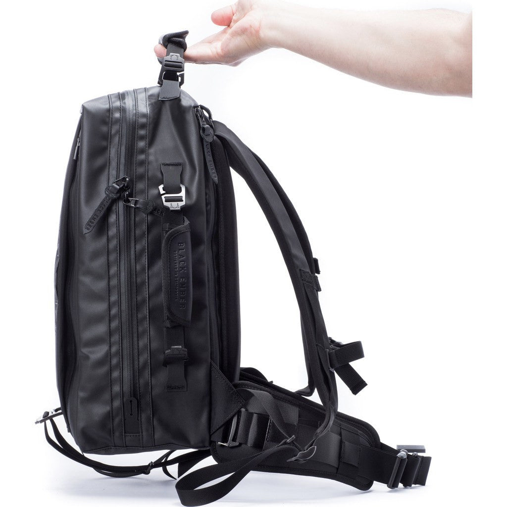 Black Ember Citadel Backpack | Jet Black G3B4