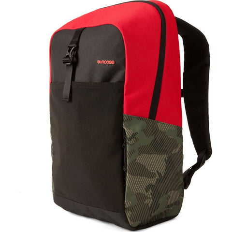 Incase Cargo Laptop Backpack | Camo/Red CL55565