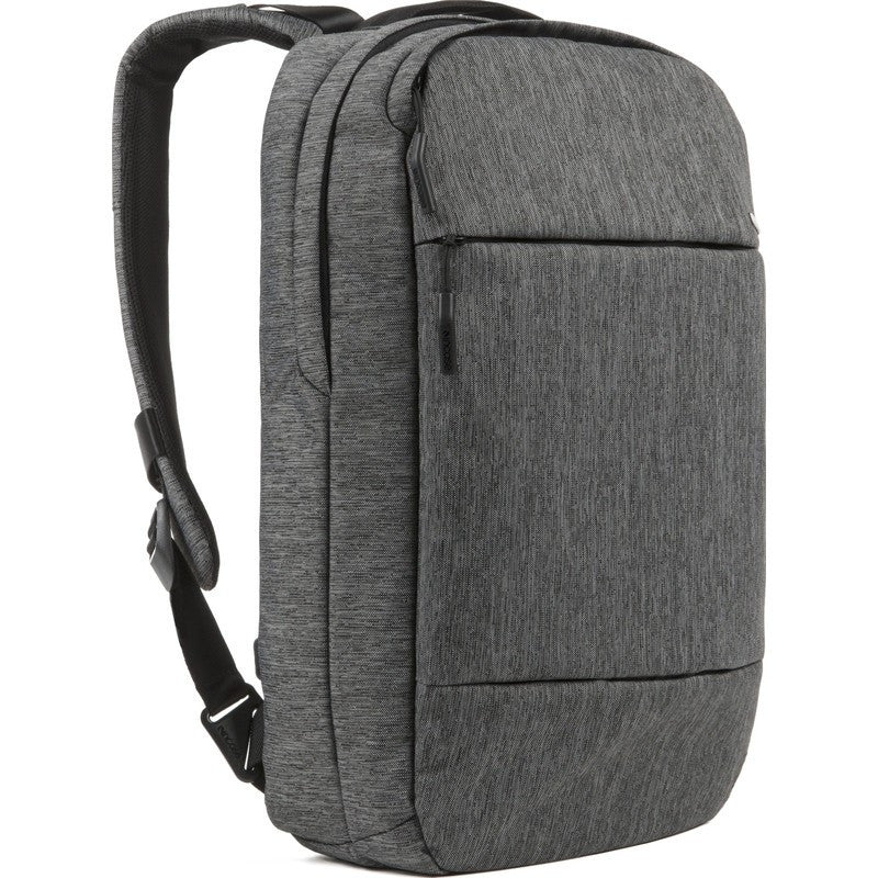 Incase City Compact Laptop Backpack | Heather Black/Gunmetal CL55571