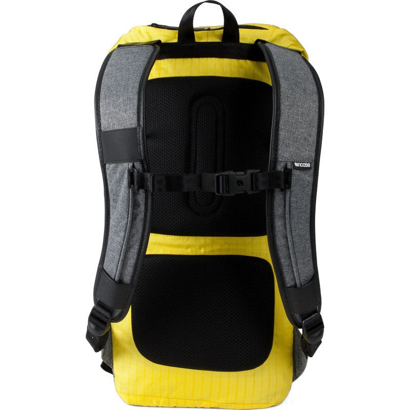 Incase Halo Courier Laptop Backpack | Grey/Yellow