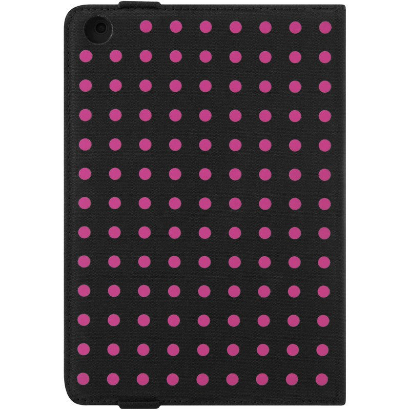 Incase Canvas iPad Mini Maki Jacket | Black/Small Pink Dots CL60305