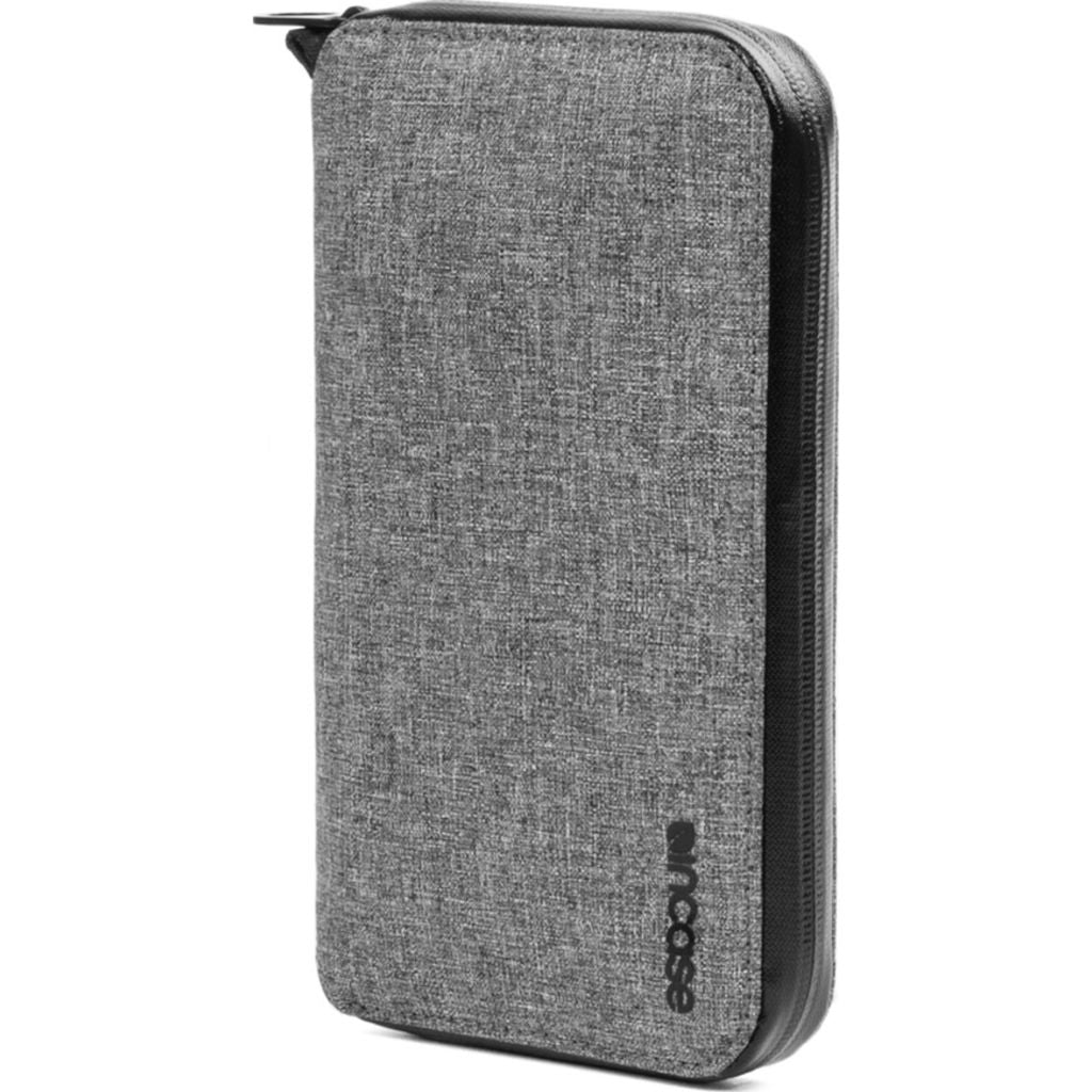 Incase Travel Passport Zip Wallet | Nylon =Heather Gray CL90024