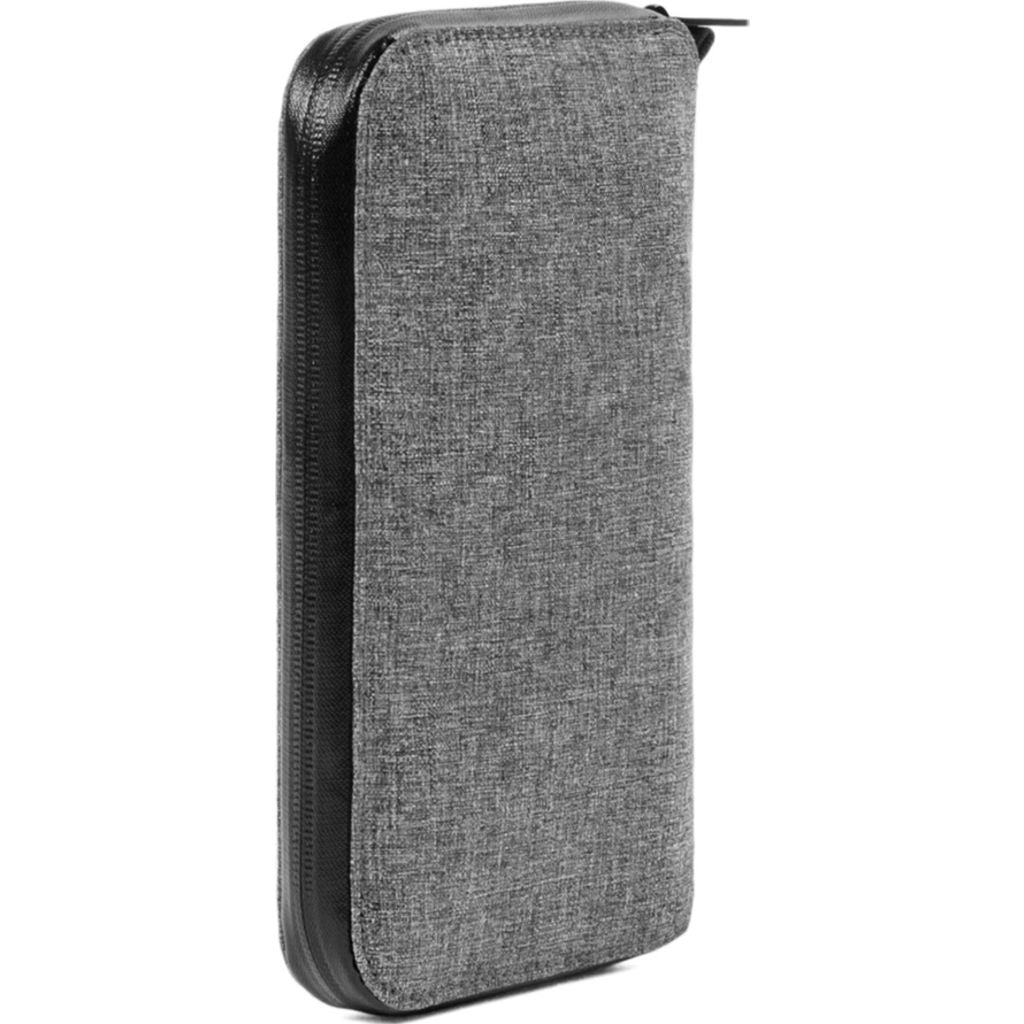 Incase Travel Passport Zip Wallet | Nylon =Heather Gray CL90026