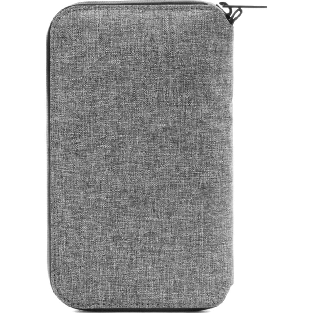Incase Travel Passport Zip Wallet | Nylon =Heather Gray CL90027