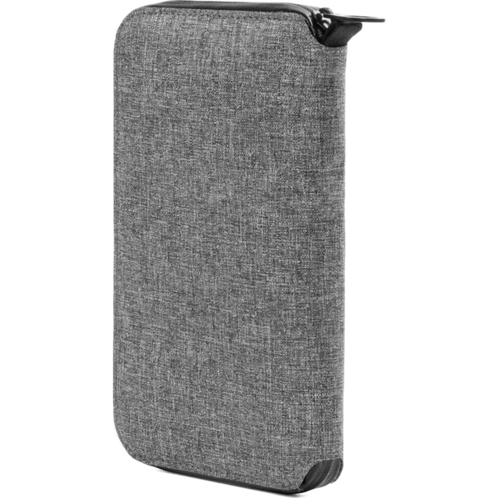 Incase Travel Passport Zip Wallet | Nylon =Heather Gray CL90028