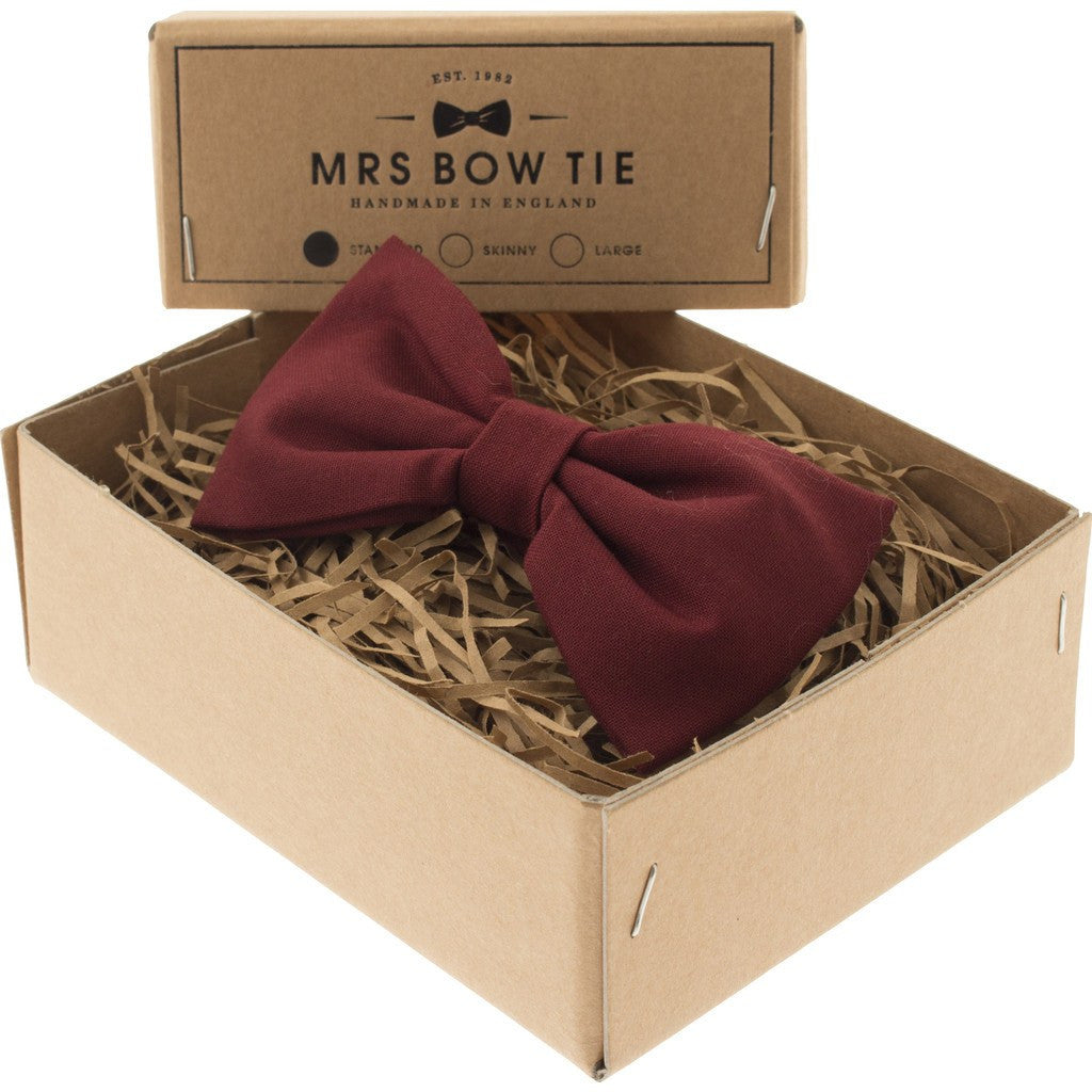 Mrs Bow Tie Cotton Ready-Tied Bow Tie | Port CLAS318