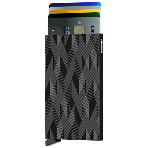 Secrid Card Protector Wallet | Zigzag Black