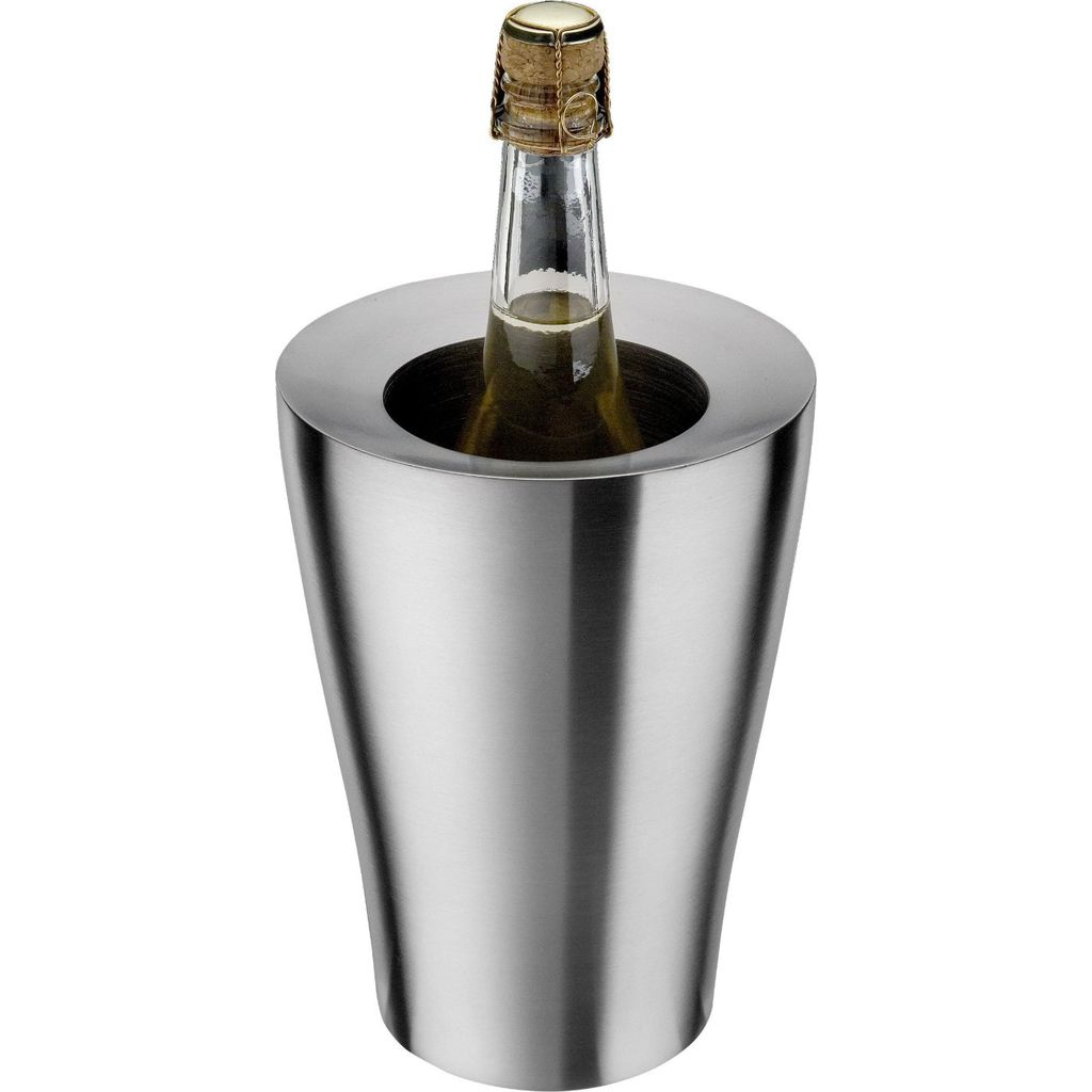 Carl Mertens Wine + Champagne Bottle Cooler | Satin Stainless Steel - CM-7119