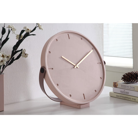 Camino Clara Clock | Pink/Prune/Copper