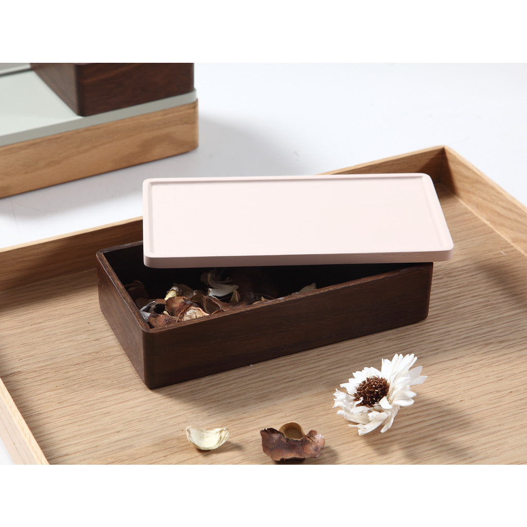 Camino Rey Container | Smoked Oak/Pink Lid
