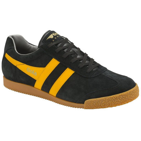 Gola Men's Harrier Sneakers | Black/Sun