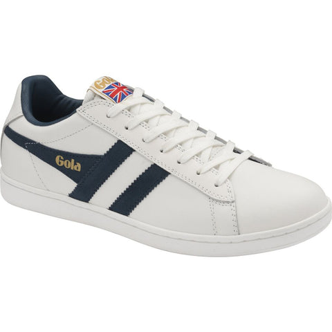Gola Men's Equipe Sneakers | White/Vintage Blue