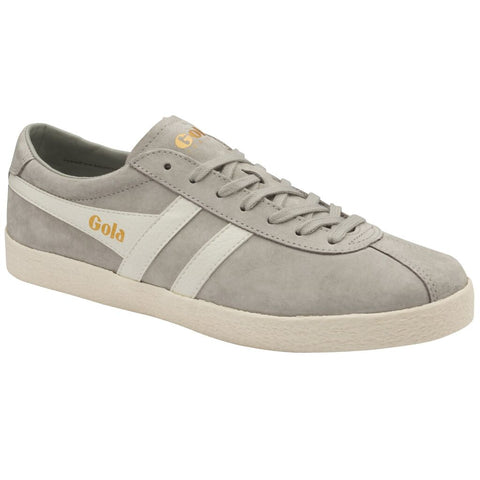 Gola Men's Trainer Suede Sneakers | Light Grey/Off White