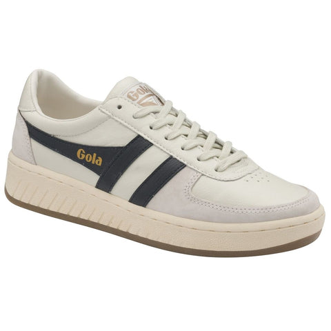Gola Men's Grandslam 78 Sneakers | Off White/Navy