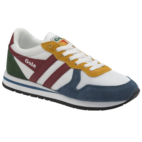 Gola Men's Daytona Sneakers | White/Baltic