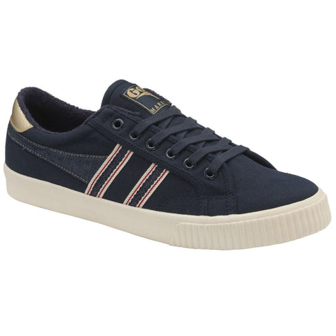 Gola Men's Tennis Mark Cox Selvedge Sneakers | Navy/Indigo