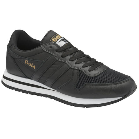 Gola Men's Daytona Leather Sneakers | Black