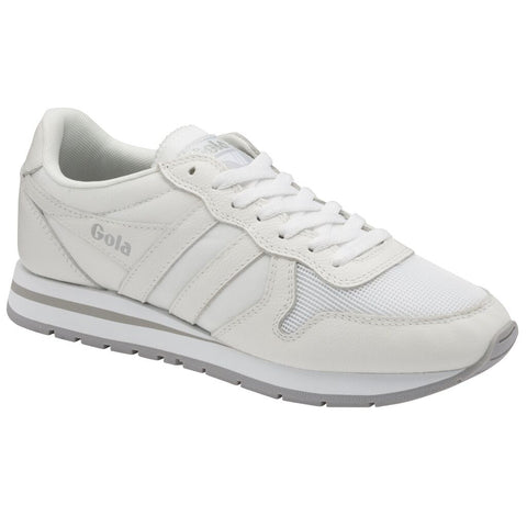 Gola Men's Daytona Leather Sneakers | White