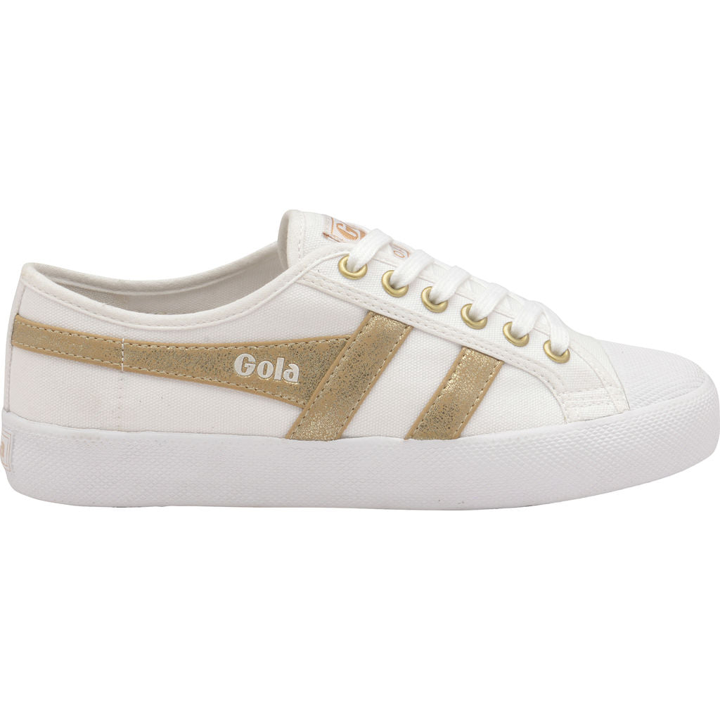 Womens Coaster Mirror Navy/Gold Trainers Gola E0IkdHFu