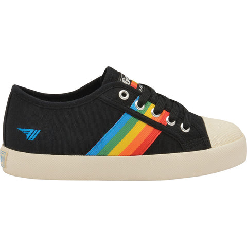 Gola Kids Coaster Rainbow Sneakers | Off White/Multi- CKA671