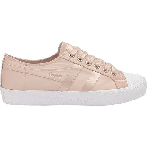 Gola Women's Coaster Satin | Blush Pink/White- CLA851KW903 05