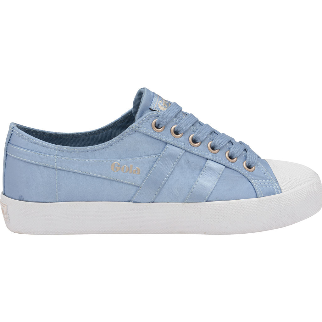 Gola Women's Coaster Satin | Indian Teal/White- CLA851EX903 05