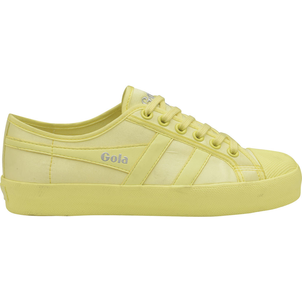Gola Women's Coaster Satin Neon | Neon Yellow- CLA609YY903 05