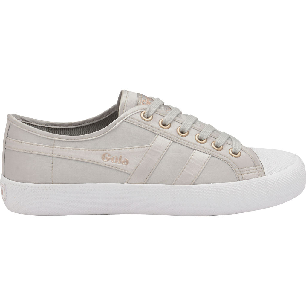 Gola Women's Coaster Satin | Silver/White- CLA851JW903 05