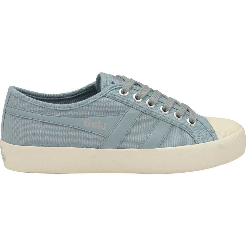 Womens Coaster Sky Blue/Off White Trainers Gola