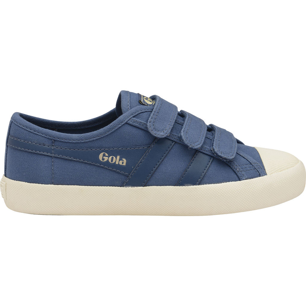 Gola Women's Coaster Velcro | Baltic/Off White- CLA478EW903 05