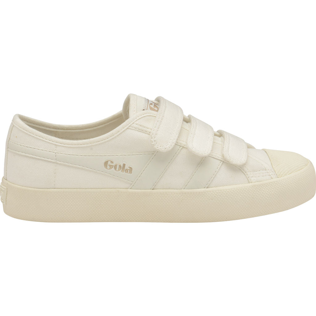 06424289c274 Gola Kid s Coaster Velcro Off White - Sportique