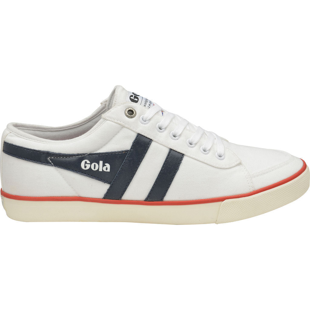 Gola Men's Comet Sneakers | White/Navy/Red