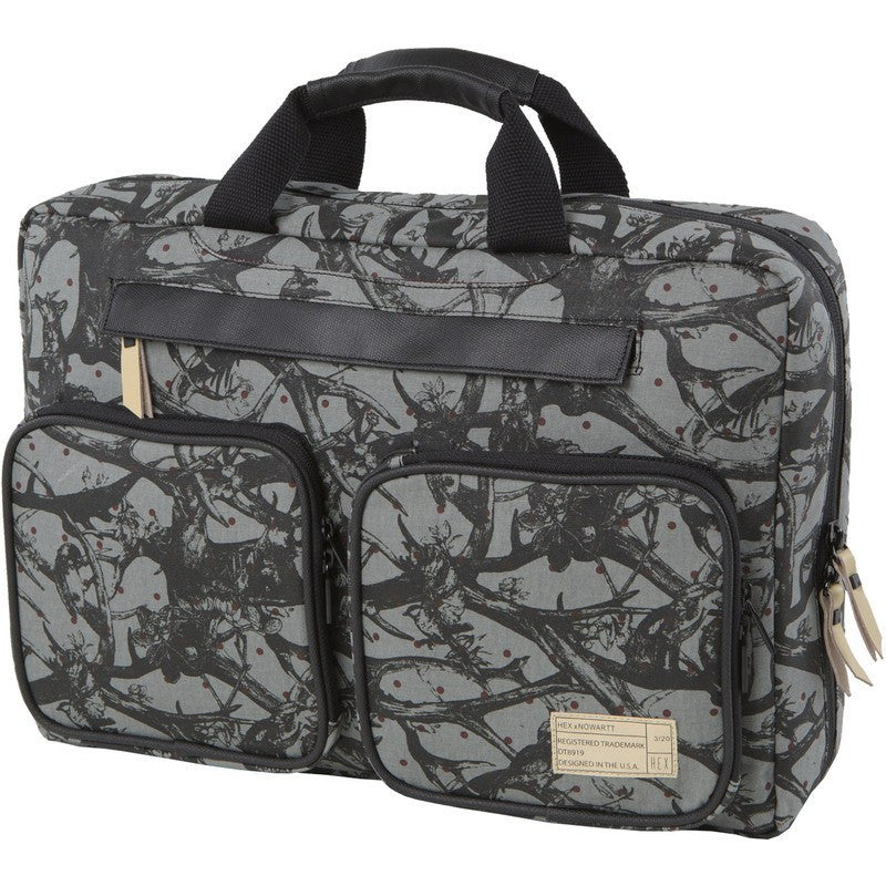 Hex x Nowartt Convertible Laptop Briefcase | Grey