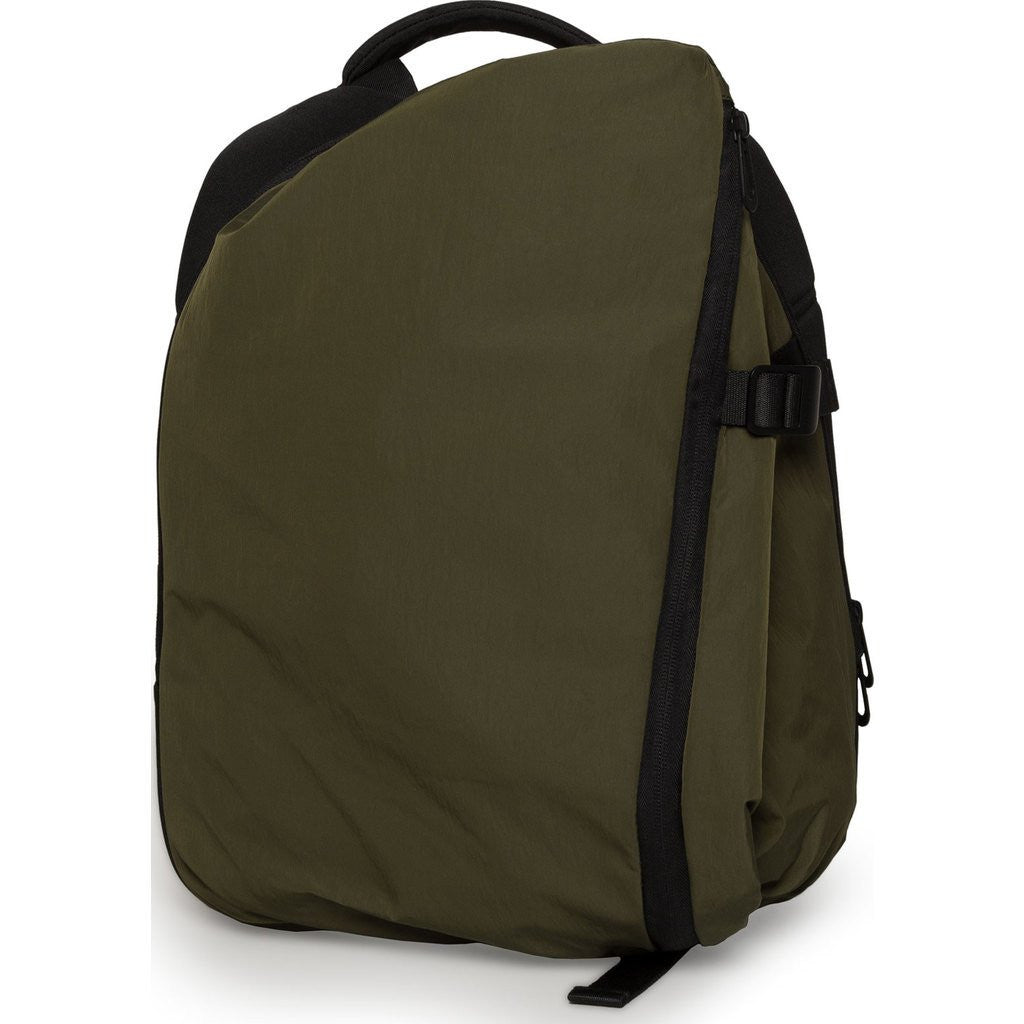 Cote&Ciel Isar Small Memory Tech Backpack | Olive Green 28537