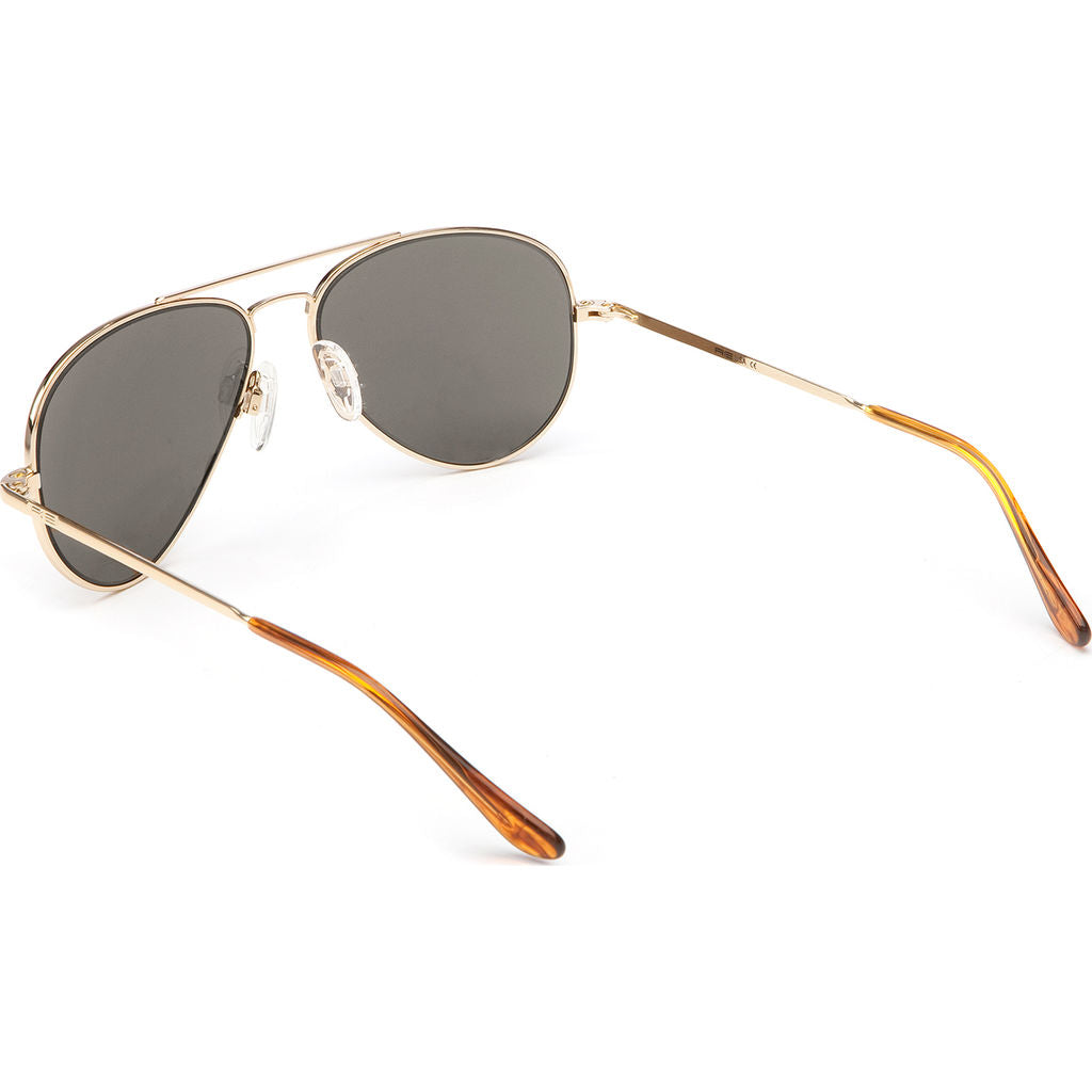 371aae31b6 Randolph Engineering Concorde 23K Gold Sunglasses Gray Polarized AR ...
