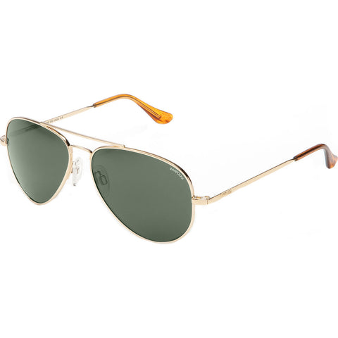 Randolph Engineering Concorde 23K Gold Sunglasses | AGX Polarized AR Skull CR004