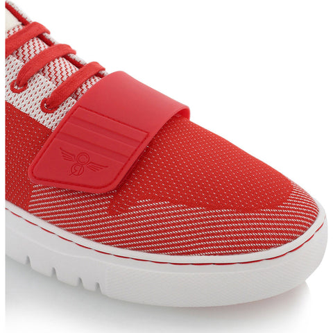 Creative Recreation Cesario Lo Woven Sneakers | Red White