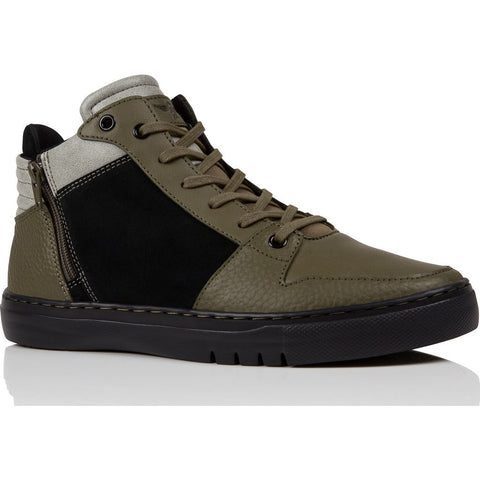 Creative Recreation Adonis Mid Sneaker | Black Olive Fog Cr0170012