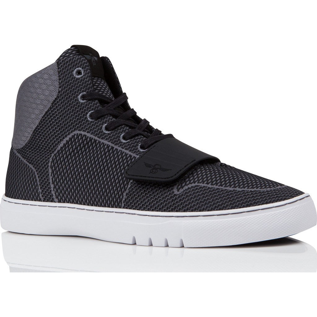 Creative Recreation Cesario Woven Sneaker | Smoke Black Cr0200006