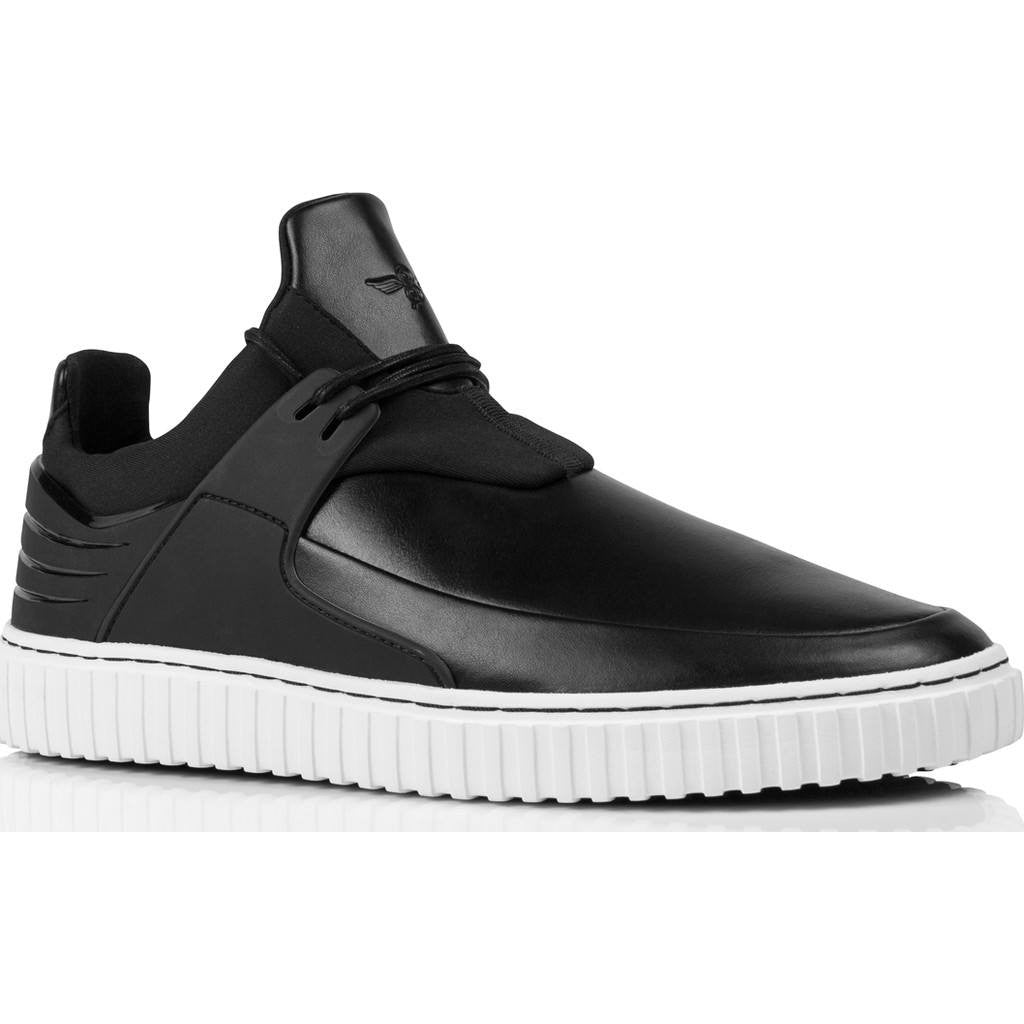 Creative Recreation Castucci Low-Top Sneaker | Black White Cr0320002