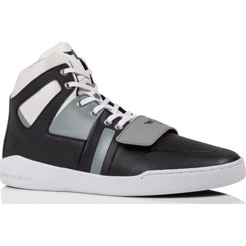Creative Recreation Manzo High-Top Sneaker | White Black Grey Cr0360003