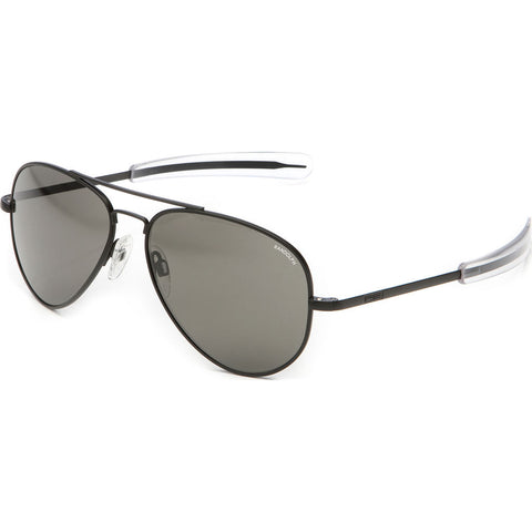 Randolph Engineering Concorde Matte Black Sunglasses | Gray Polarized AR Bayonet CR018