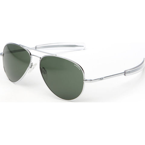 Randolph Engineering Concorde Bright Chrome Sunglasses | AGX Polarized AR Bayonet CR029